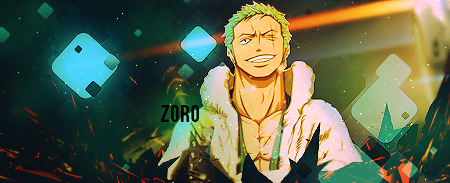 Zoro signature by ksop