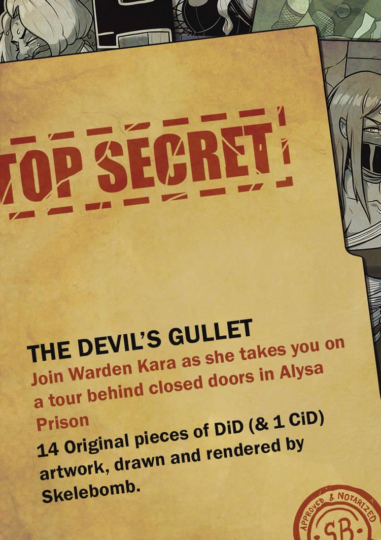 The Devil's Gullet: Another Skelebomb Sketchbook by Skelebomb