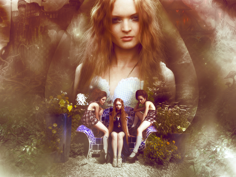 Wonderland - Wall by poolichoo