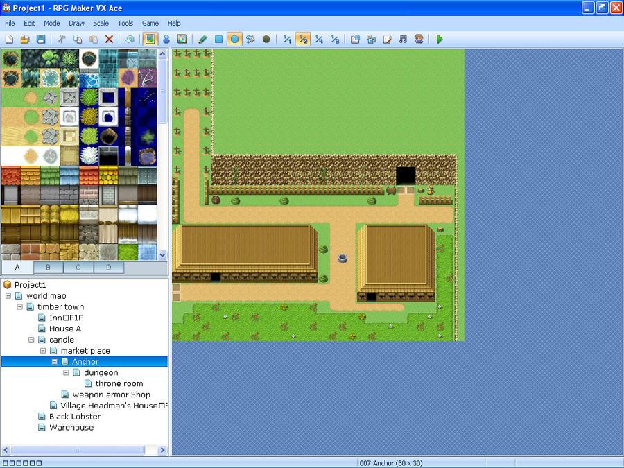 how to make 2 maps rpg maker vx ace