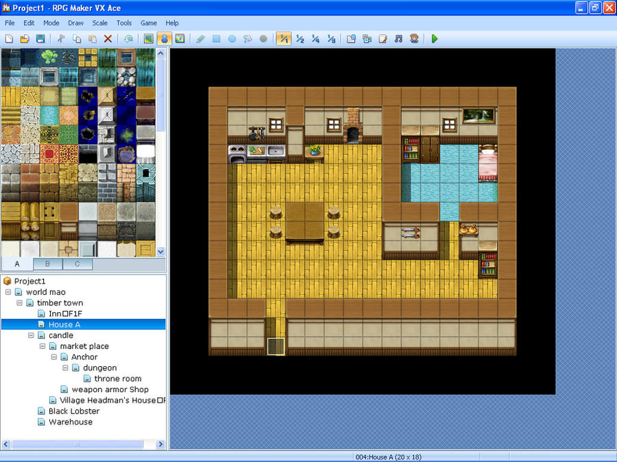 Rpg maker vx ace house by novadragon1000 on deviantart for House map creator