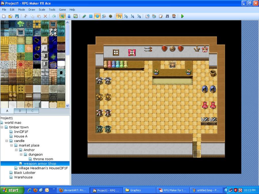 Rpg Maker Vx Ace General Store By Novadragon1000 On