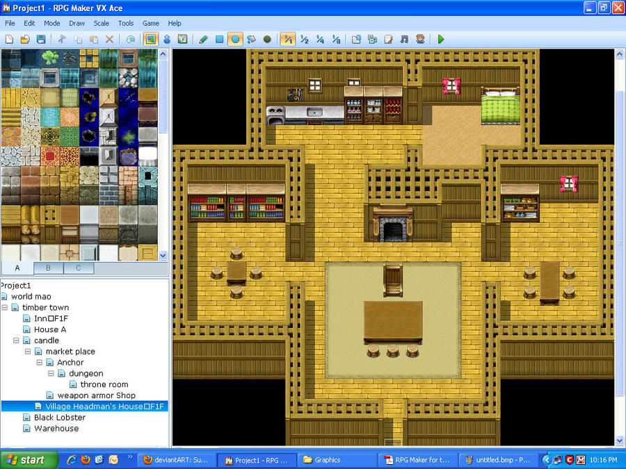 Rpg Maker Vx Ace Elder 39 S Home By Novadragon1000 On
