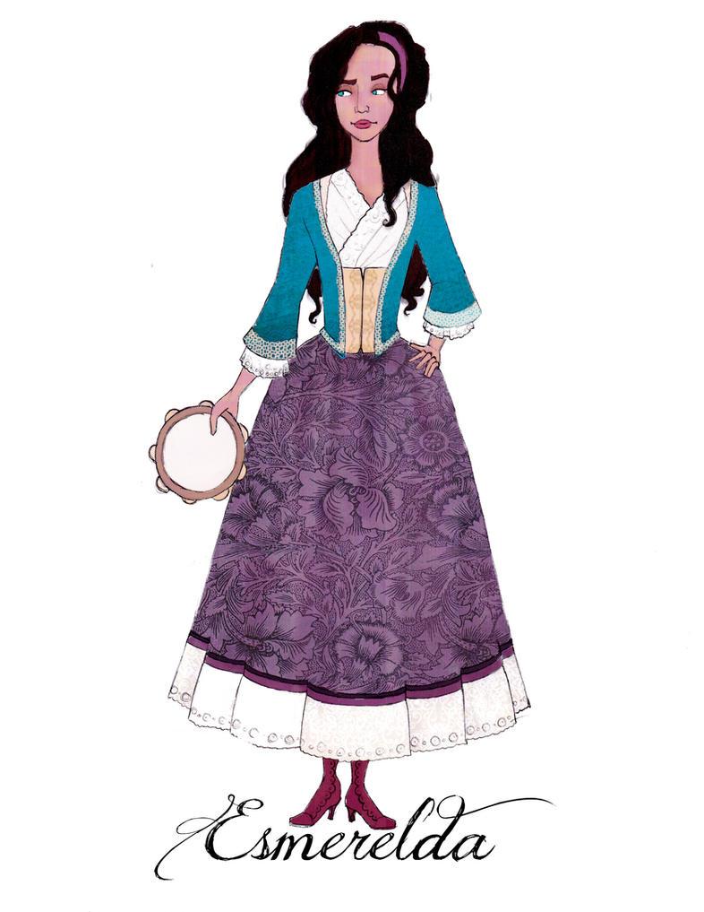 18th Century Disney: Esmerelda by Rachyf1