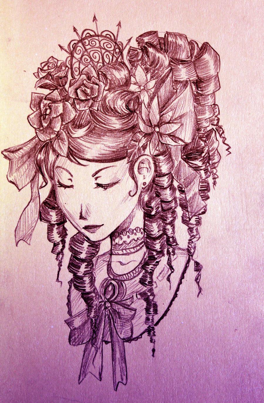 Lady by gehirnkaefer