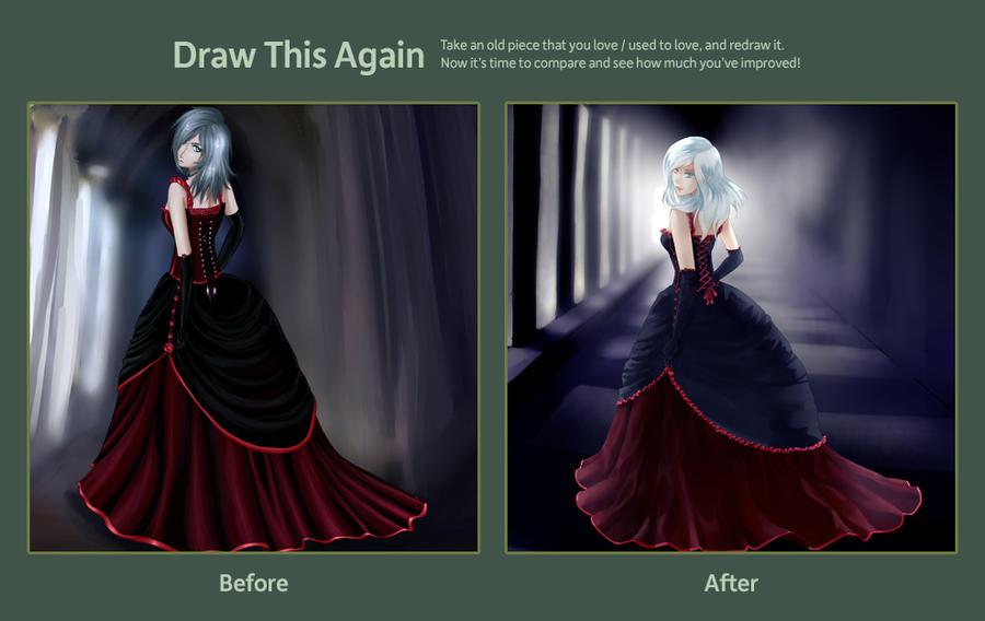 meme: draw this again (2) by gehirnkaefer