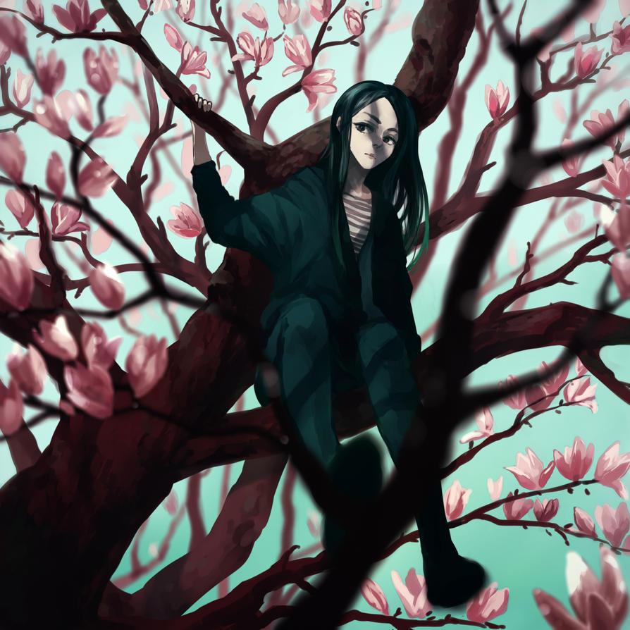 magnolia by gehirnkaefer