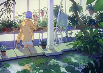 greenhouse by gehirnkaefer