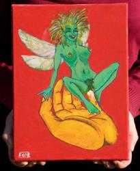 Green Fairy by Kitsch-Craft