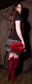 Velvet Lip Bag