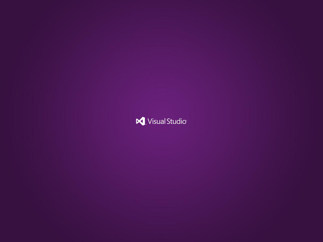 Minimal Visual Studio Wallpaper By Synetcon