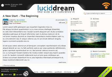 Lucid Dream Template