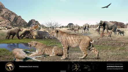 the Pleistocene epoch (North America)2 by Rom-u