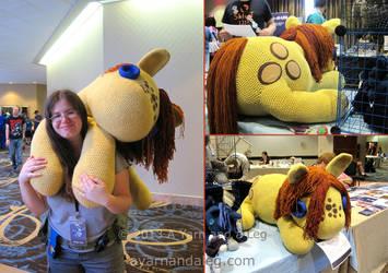 Ginormous Peanut Bucker by SBuzzard