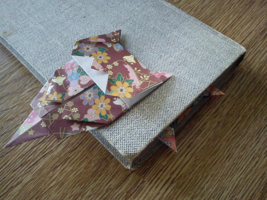 Origami Cat Bookmark By Nixgaunt On Deviantart