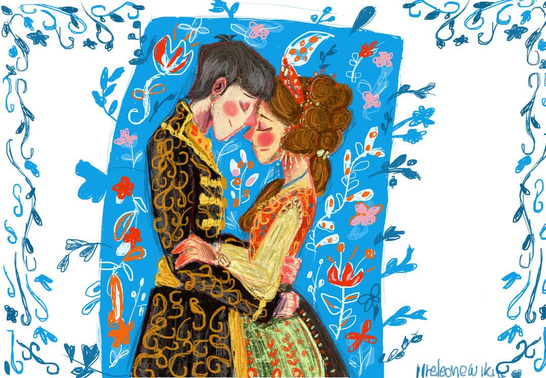 I wil marry  you - Alina and The Darkling by ilreleonewikia
