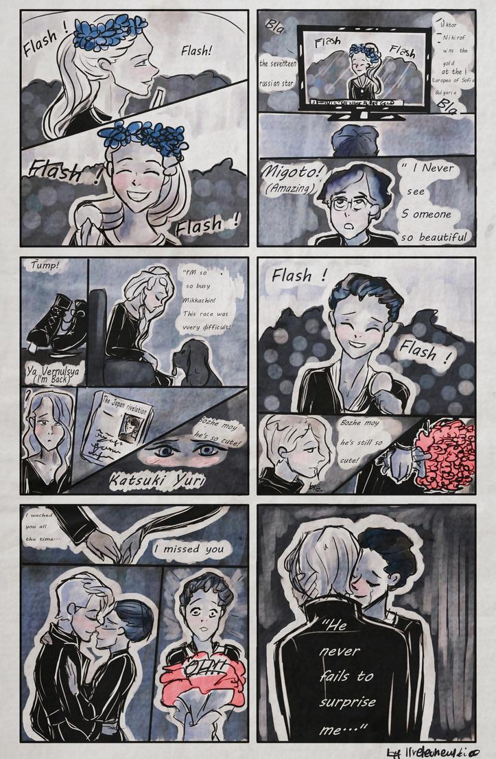 He never fails to surprise me - Victuri comic by ilreleonewikia