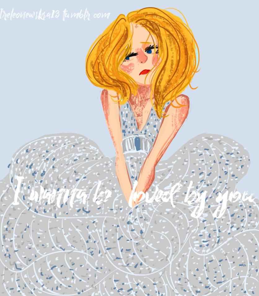 J - I wanna  be loved by you by ilreleonewikia