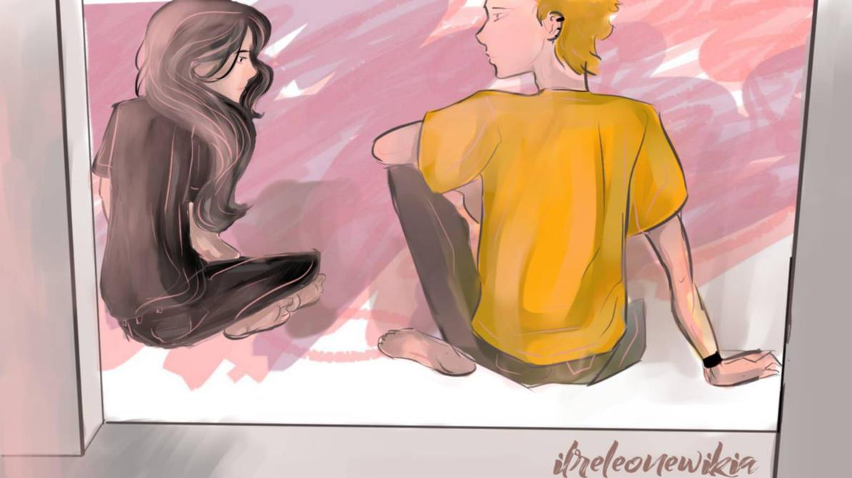 Yoru and Asachi by ilreleonewikia