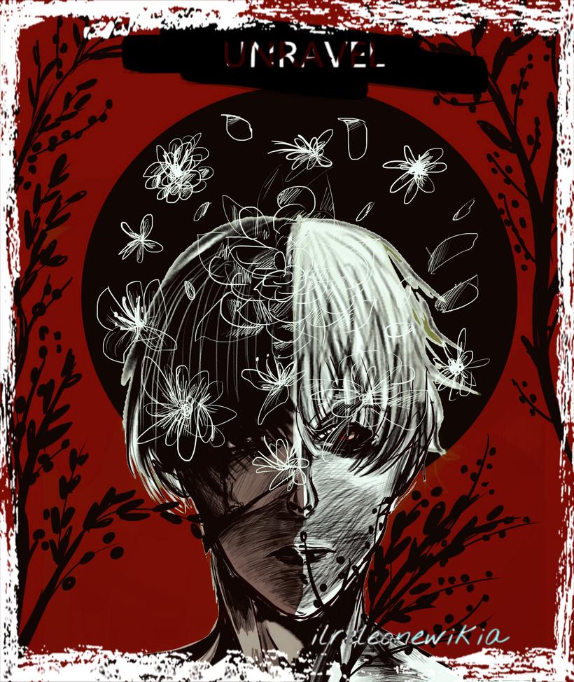 unravel - tokyo ghoul by ilreleonewikia