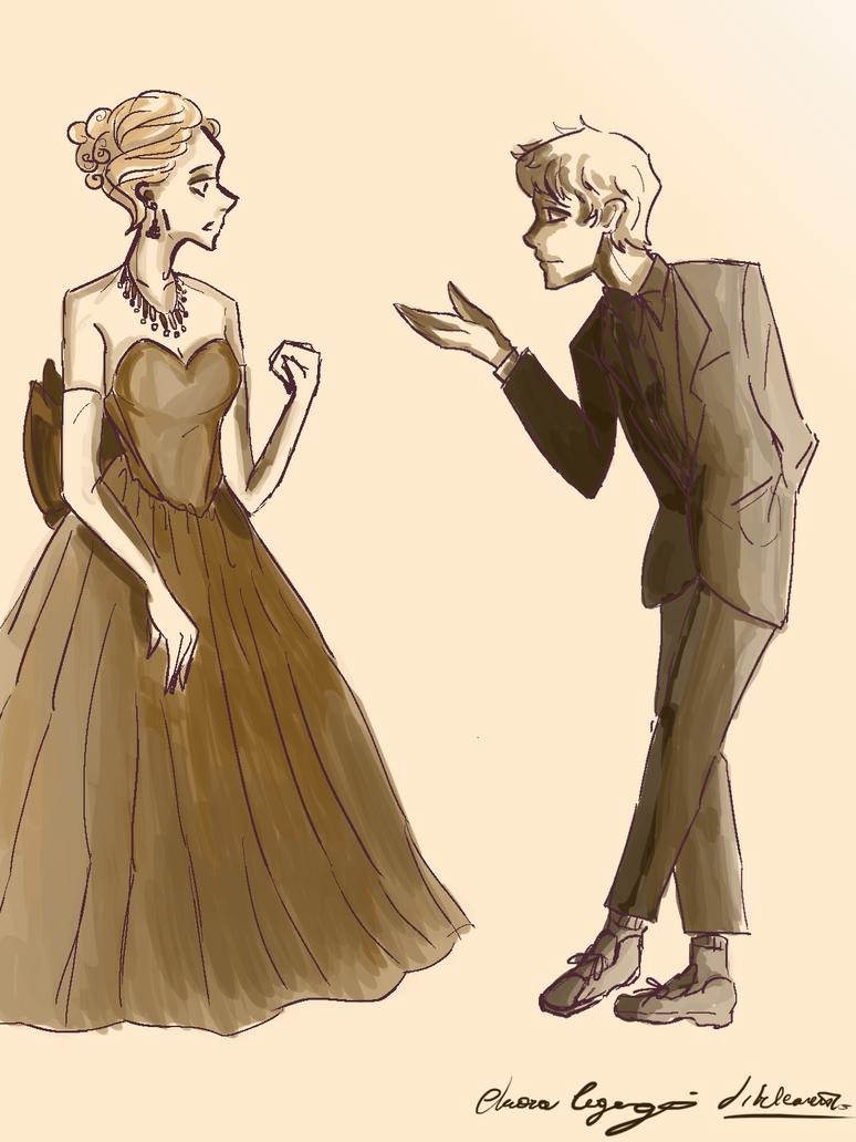 Sam and Celaena - 2017 version by ilreleonewikia