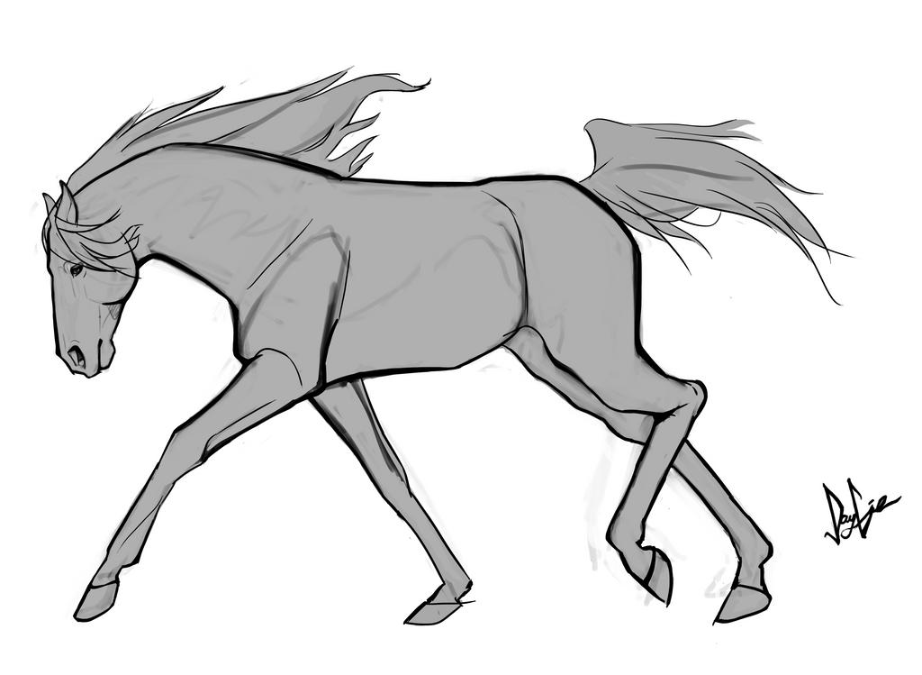 Horse tatt design 1 by JGunner
