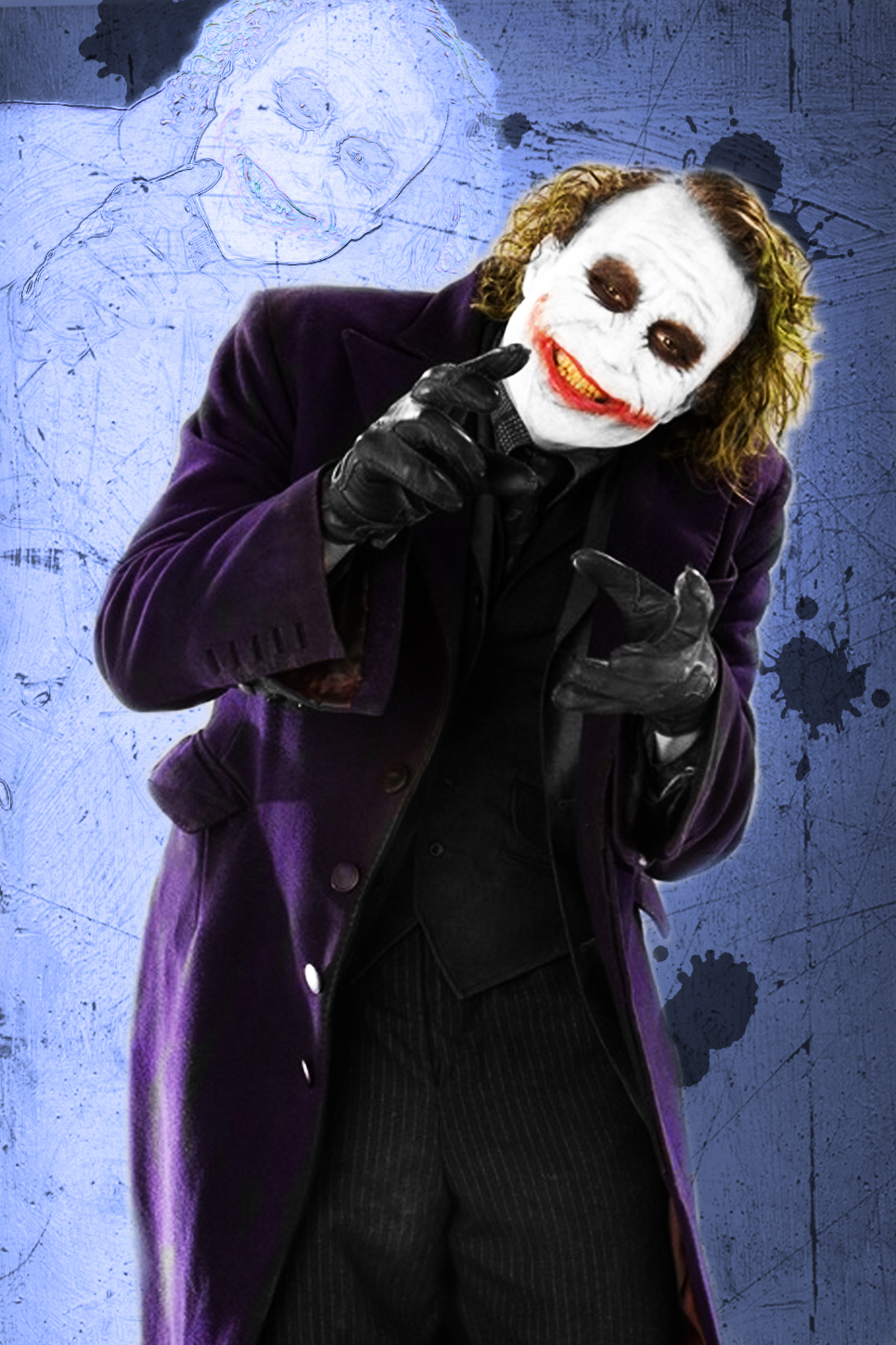 The Joker Why So Serious By Ronnie8886