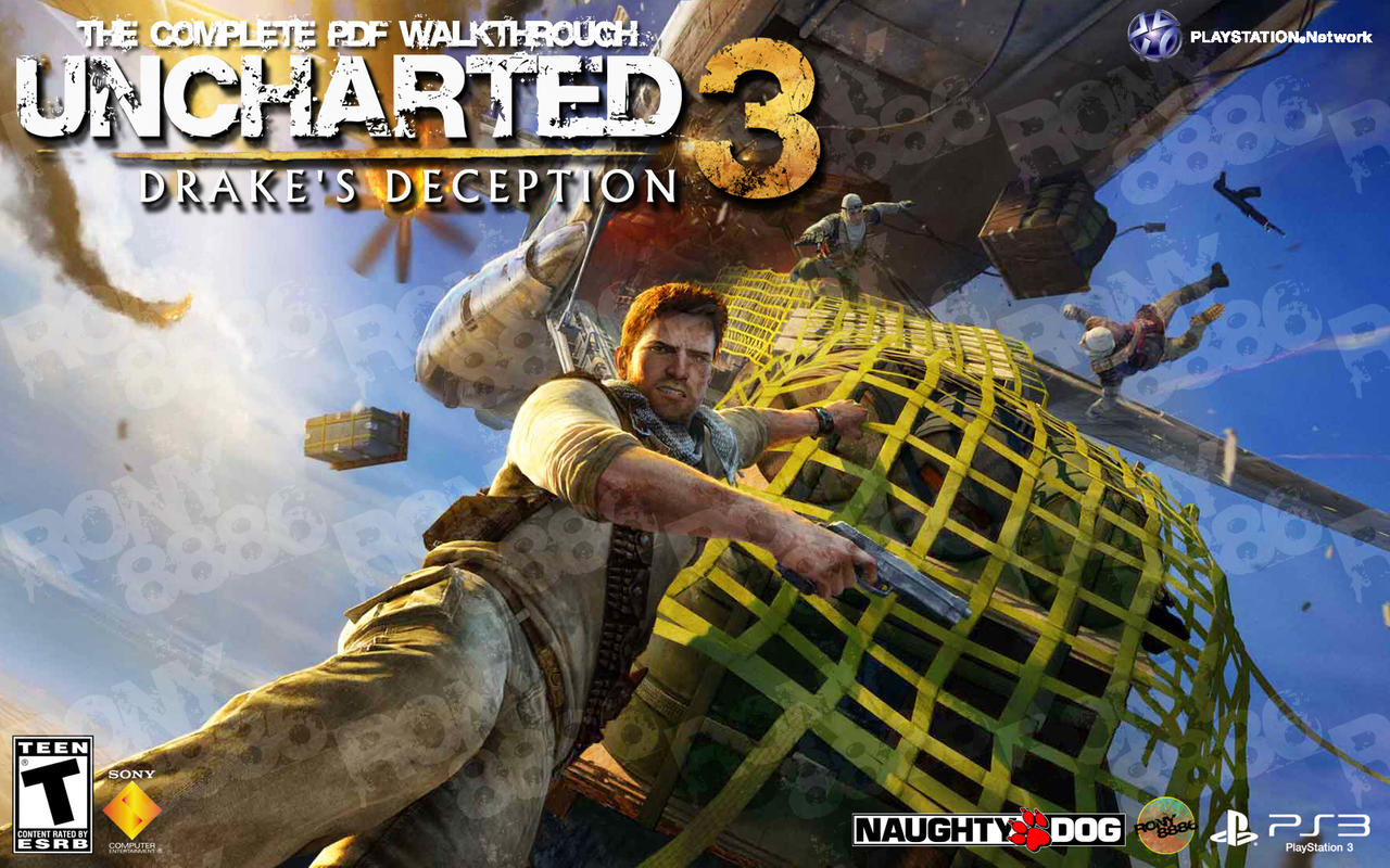 Uncharted 3 Drake S Deception Walkthrough Cover By Ronnie8886 On