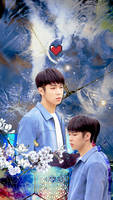 SF9_For Dawon 23thHBD_Phone Wallpaper by luoyingxband
