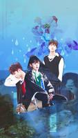 SF9_For Rowoon/Seokwoo 21thHBD_Phone Wallpaper by luoyingxband