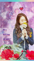 WJSN_For Yeonjung 18thHBD_Phone Wallpaper by luoyingxband