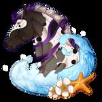 N5105 Purple Polka Dotted Dream - Mare