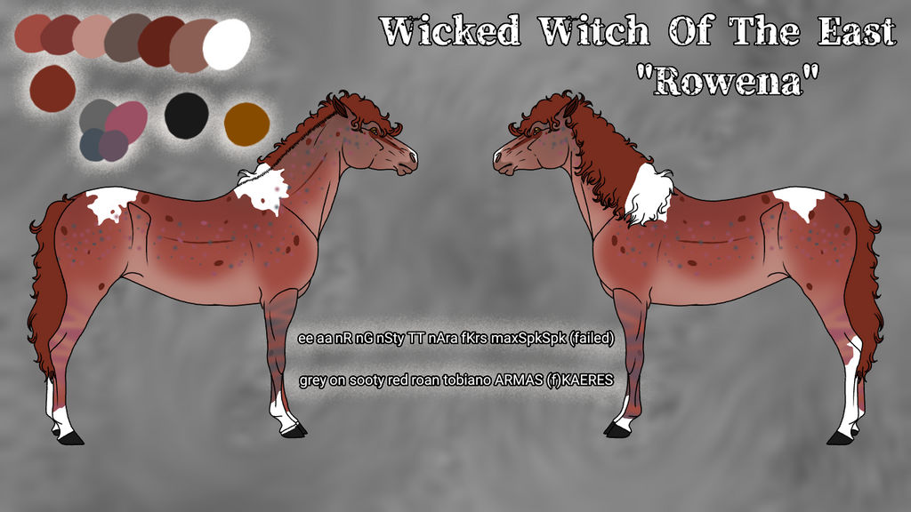 N5156 Wicked Witch of the East - Mare - QUALITY