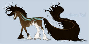 1627 Quirlicorn Foal Design