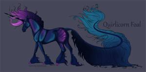 1705 Quirlicorn Foal Design