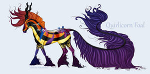 1776 Quirlicorn Foal Design