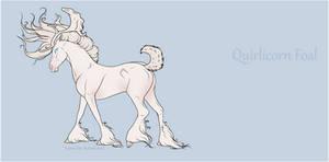G1794 Quirlicorn Foal Design