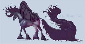 1784 Quirlicorn Foal Design