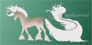 2105 Quirlicorn Foal Design