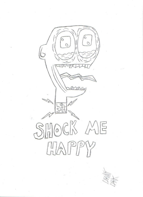 Shock Me Happy by DannyxDark on DeviantArt