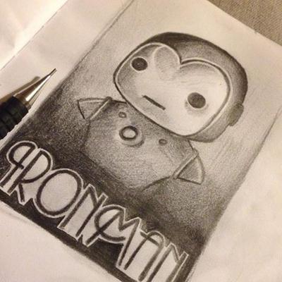 POP Ironman Sketch. by MsZVG