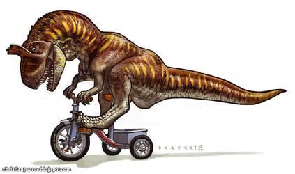 Cryolophosaurus Tricyclus