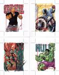 Avengers AP6 (Cage, Capt. America, Ant man, Hulk)