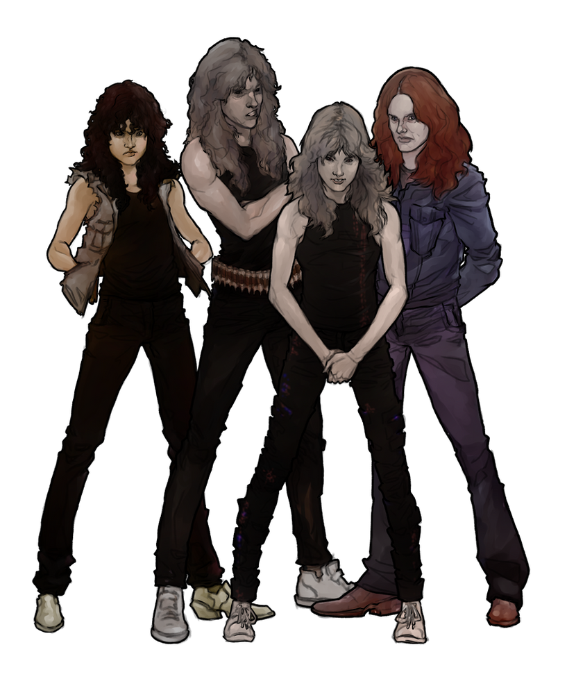 Metallica 1984 by try1001me
