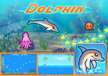 Dolphin by FrahDesign
