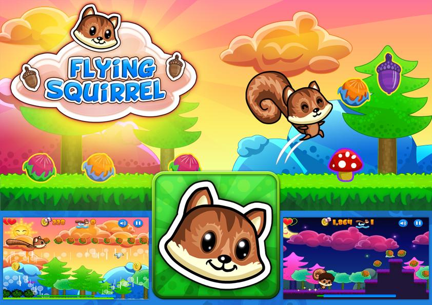 FlyingSquirrel by FrahDesign
