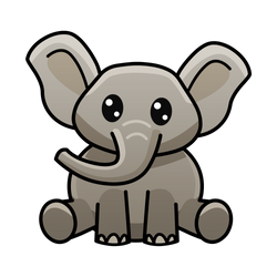 Elephant by FrahDesign