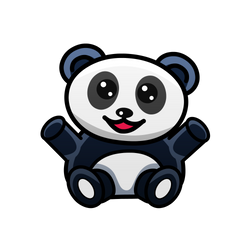 Panda by FrahDesign