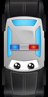 Police Car by FrahDesign