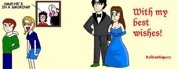 Leggy's and Jack's Wedding by RedSantiago27
